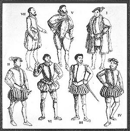 Late Tudor Patterns for Men (Elizabethan)