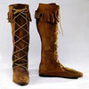 Women's Suede Front-lace Boot