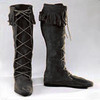 Men's Suede Front-lace Boot