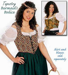 Brocade Barmaid Bodice