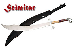 "37"" Falcon Head Scimitar"