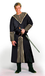 Deluxe Horseman's Tunic with brocade trim