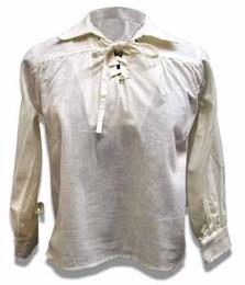 Child's Laced Pirate Shirt-Pre Shrunk