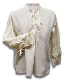 Child's Laced Wedding Shirt, pre-shrunk