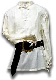 Fine Pleat Renaissance Shirt, pre-shrunk