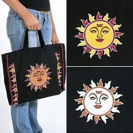 Cotton Celestial Design Craft Bag 16 x 12