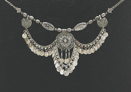 Antique style Coin Necklace