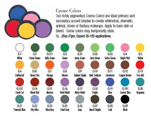 Creme Colors