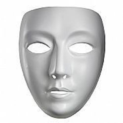 Blank Female Adult Mask