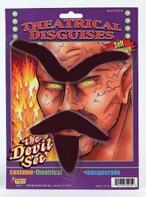 Devil Eyebrow Beard Moustache