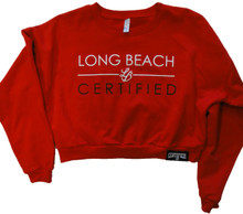 WOMENS CROPPED PREZEE CREWNECK