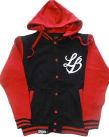 LB COLLEGIATE DETACHABLE VARSITY HOODY