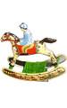 Rocking Horse Tin Toy