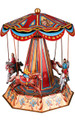 Enchanted Evening Carousel with Horses