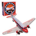 DC3 Airplane Tin Toy
