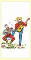 Singing Cowboys Vintage-Style  Flour Sack Towel