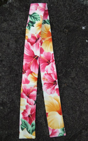 Hawaiian Neck Cooler (Pink Hibiscus /White)