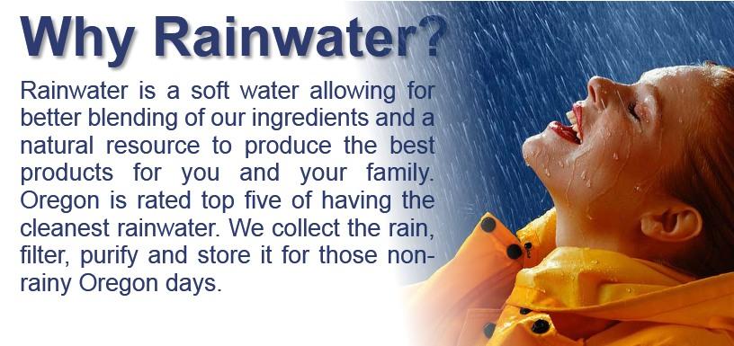Why Rainwater?