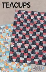 Jaybird Quilts - Teacups Quilt Pattern
