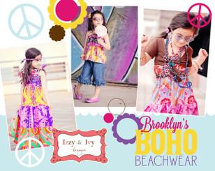 Izzy & Ivy Designs - Brooklyn's Boho Beachwear Pattern Book