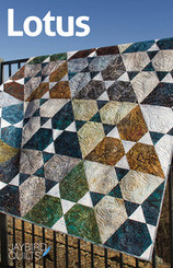 Jaybird Quilts - Lotus Quilt Pattern