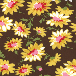 Glamping Floral Miss Daisy - Dark Chocolate