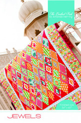 The Quilted Fish  - Jewels Quilt Pattern