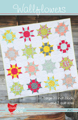 Cluck Cluck Sew - Wallflowers Quilt Pattern