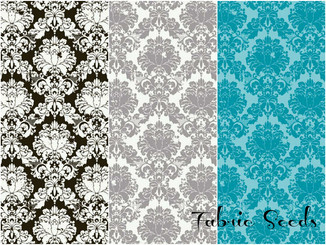 Andrea Victoria Damask ~ Available in 3 colorways