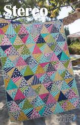 Jaybird Quilts - Stereo Quilt Pattern