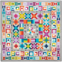 Elizabeth Hartman - Aviatrix Medallion Quilt Pattern