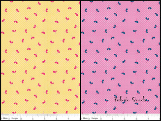 Wildflower Meadow Spot - available in 2 colorways!
