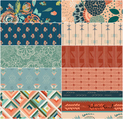 Fleet & Flourish Fat Quarter Bundle in Tenacity