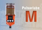 The lubricant is supplied in 250cc Pulsarlube along with a Pulsarlube battery pack.Pulsarlube-M offers 6 optional dispensing rates from 1/2 to 12months in a single unit.