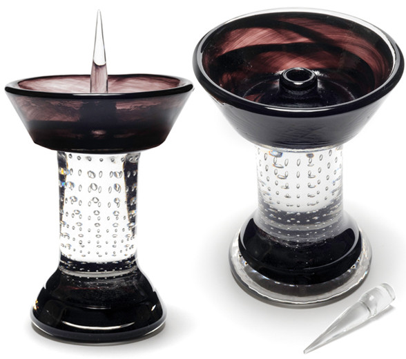 Black Royal Glass Debowler