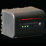 HIGH CAPACITY BATTERY WITH POWER LEVEL INDICATOR