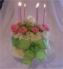Fresh Floral Cake Design