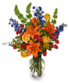 Beutiful Fresh Autumn Foral Array