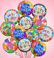 Dozen Happy Birthday Balloon Bouquet
