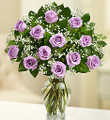 Passion Purple Dozen Roses