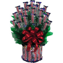 Baby Ruth Candy Bars Bouquet