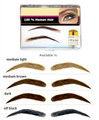 Features 100% Human Hair Reusable Easy to Apply Realistic & Discreet Includes wig adhesive, instructions & hard shell case