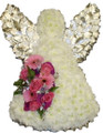 Beautiful Fresh Floral Angel Tribute