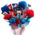 Patriotic Baseball Candies