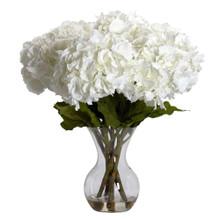 White Large Hydrangea