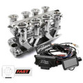 Small Block Chevy Polished Downdraft FAST EZ-EFI 2.0 Fuel Injection System