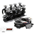 Small Block Chevy Black Downdraft FAST EZ-EFI 2.0 Fuel Injection System