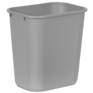RUBBERMAID COMMERCIAL TRASH CAN GRAY 7 GALLON (28 1/8QT)