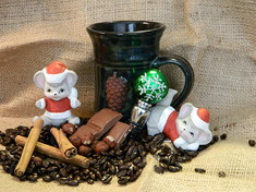 "Pine Cone Christmas ""D"" Roast (Decaf )"
