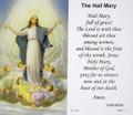 Hail Mary Paper Holy Card